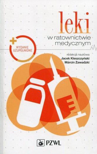 Leki w ratownictwie medycznym - okładka książki