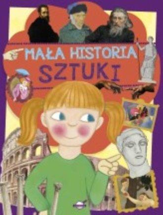 Mała historia sztuki dla dzieci - okładka książki