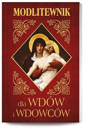 Modlitewnik dla wdów i wdowców - okładka książki