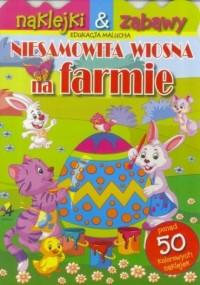 Niesamowita wiosna na farmie - okładka książki