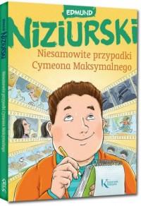 Niesamowite przypadki Cymeona Maksymalnego - okładka książki