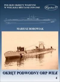 Okręt podwodny ORP Wilk - okładka książki