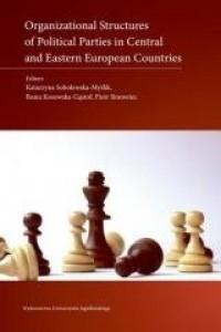 Organizational Structures of Political - okładka książki