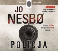 Policja (audiobook CD) - Jo Nesbo - pudełko audiobooku