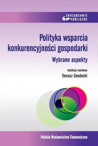 Polityka wsparcia konkurencyjności - okładka książki