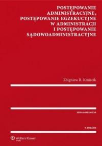 Postępowanie administracyjne, postępowanie - okładka książki