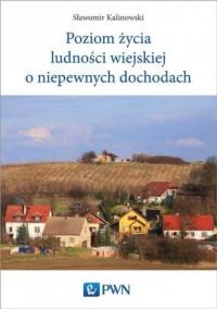 Poziom życia ludności wiejskiej - okładka książki