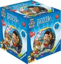 Puzzle 54. Kuliste 3D. Psi patrol - zdjęcie zabawki, gry