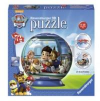 Puzzle 72. Kuliste 3D. Psi patrol - zdjęcie zabawki, gry
