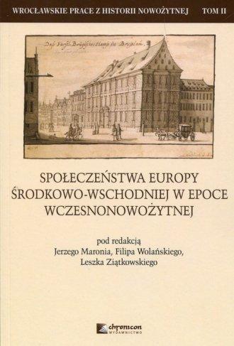 Społeczeństwa Europy środkowo-wschodniej - okładka książki