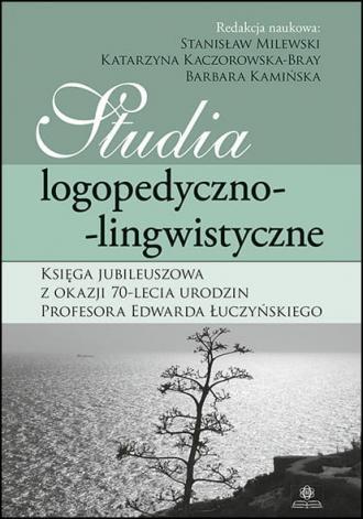 Studia logopedyczno-lingwistyczne. - okładka książki