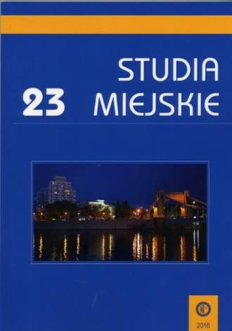Studia Miejskie. Tom 23 - okładka książki