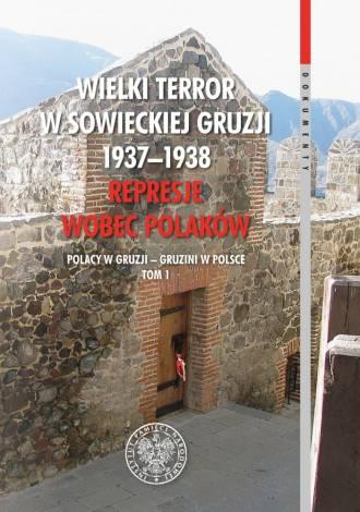 Wielki Terror w sowieckiej Gruzji - okładka książki
