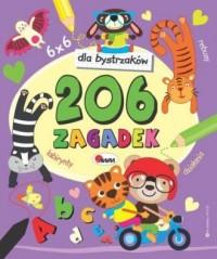 206 zagadek dla bystrzaków - okładka książki