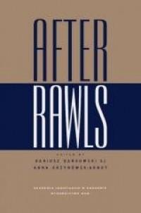 After Rawls - Dariusz Dańkowski - okładka książki