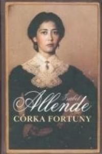 Córka fortuny - okładka książki