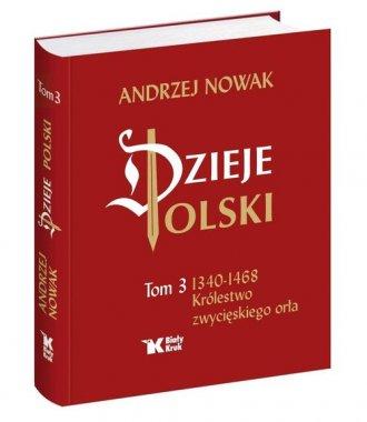 Dzieje Polski. Tom 3. 1340-1468. - okładka książki