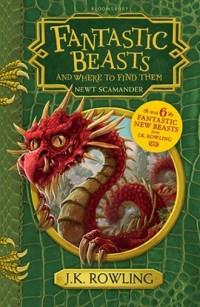 Fantastic Beasts and Where to Find Them - okładka książki