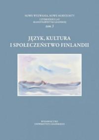 Język kultura i społeczeństwo Finlandii - okładka książki
