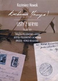 Kochana Maryś! Listy z Afryki. - okładka książki