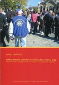 Konflikt serbsko-albański w Kosowie - okładka książki
