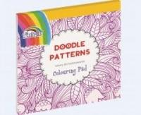 Książka do kolorowania. Doodle Patterns - okładka książki