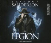 Legion - Brandon Sanderson - pudełko audiobooku