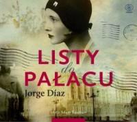 Listy do Pałacu - Jorge Diaz - pudełko audiobooku