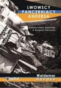 Lwowscy pancerniacy Andersa - Waldemar - okładka książki