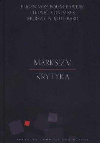 Marksizm. Krytyka - okładka książki