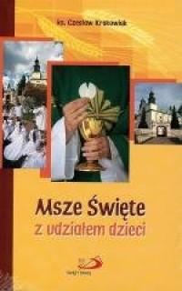 Msze Święte z udziałem dzieci - okładka książki