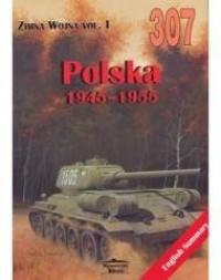 Polska 1945-1955. Zimna Wojna vol. - okładka książki