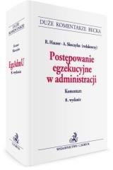 Postępowanie egzekucyjne w administracji. - okładka książki