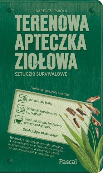Terenowa apteczka ziołowa - okładka książki