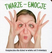 Twarze emocje - okładka książki