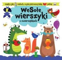 Wesołe wierszyki o zwierzątkach - okładka książki