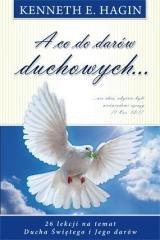 A co do darów duchowych - okładka książki