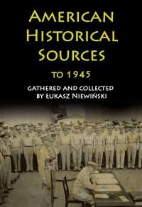 American Historical Sources to - okładka książki