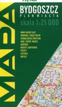 Bydgoszcz mapa składana - okładka książki