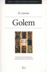 Golem - okładka książki