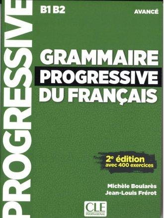 Grammaire progressive du francais. - okładka podręcznika
