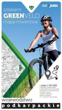 Green Velo mapa rowerowa. Województwo - okładka książki