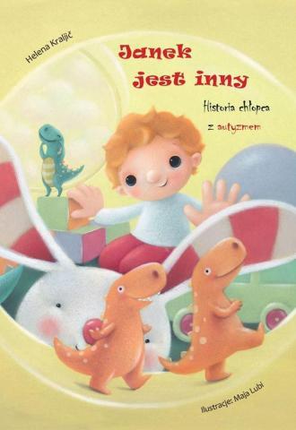 Janek jest inny - okładka książki
