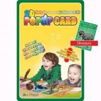 Karty Popup 3D dinozaury - zdjęcie zabawki, gry