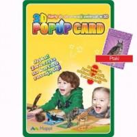 Karty Popup 3D ptaki - zdjęcie zabawki, gry
