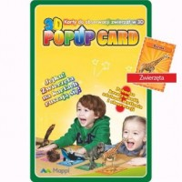 Karty Popup 3D zwierzęta - zdjęcie zabawki, gry