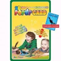 Karty Popup 3D zwierzęta morskie - zdjęcie zabawki, gry