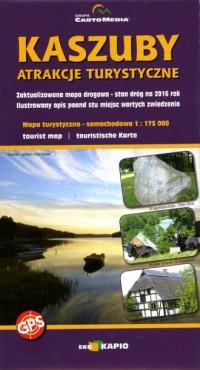 Kaszuby. Atrakcje turystyczne - okładka książki