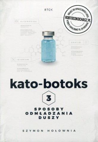 Kato-botoks 3 sposoby odmładzania - pudełko audiobooku