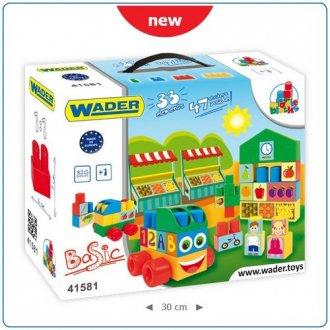 Klocki Middle Blocks - 33 elementowe - zdjęcie zabawki, gry